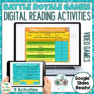 digital-reading comprehension-activity