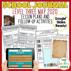 School Journal Level 3 May 2020