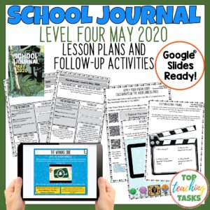 School Journal Level 4 May 2020