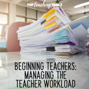 Managing the teacher workload