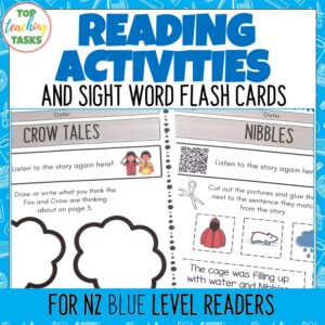 Blue Ready to Read Activities