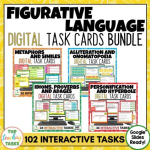 Figurative Language Digital Activities Bundle