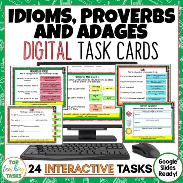 Idioms Proverbs and Adages