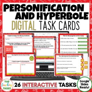 Personification and Hyperbole Digital Activities