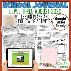 School Journal Level 3 August 2020