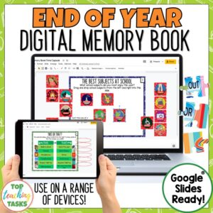 End of the Year Digital Activities