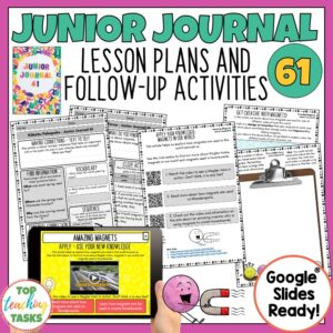Junior Journal 61 Activities