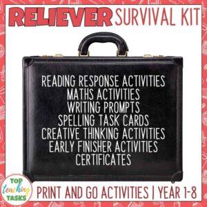 Relief Teacher Activities