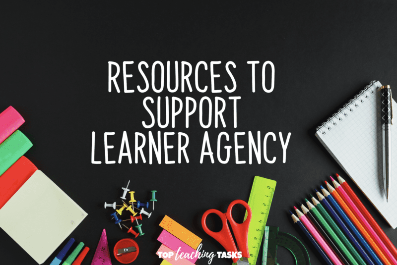 Resources to support learner agency. Learner Agency (also known as student agency) is key to providing opportunities for the development of key competencies and application of learning.  In this guest blog post, Kate Friedwald explores resources to support learner agency. Ensuring learners have a choice in their learning not only raises engagement but also supports the learning of vital skills our young people need to be successful in tomorrow's world.