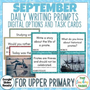 September Writing Prompts British