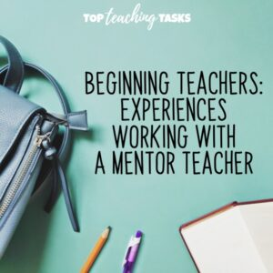 Working with a mentor teacher