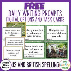 Free Writing Prompts