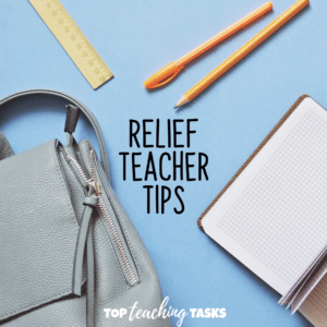 Relief Teacher Tips and Tricks