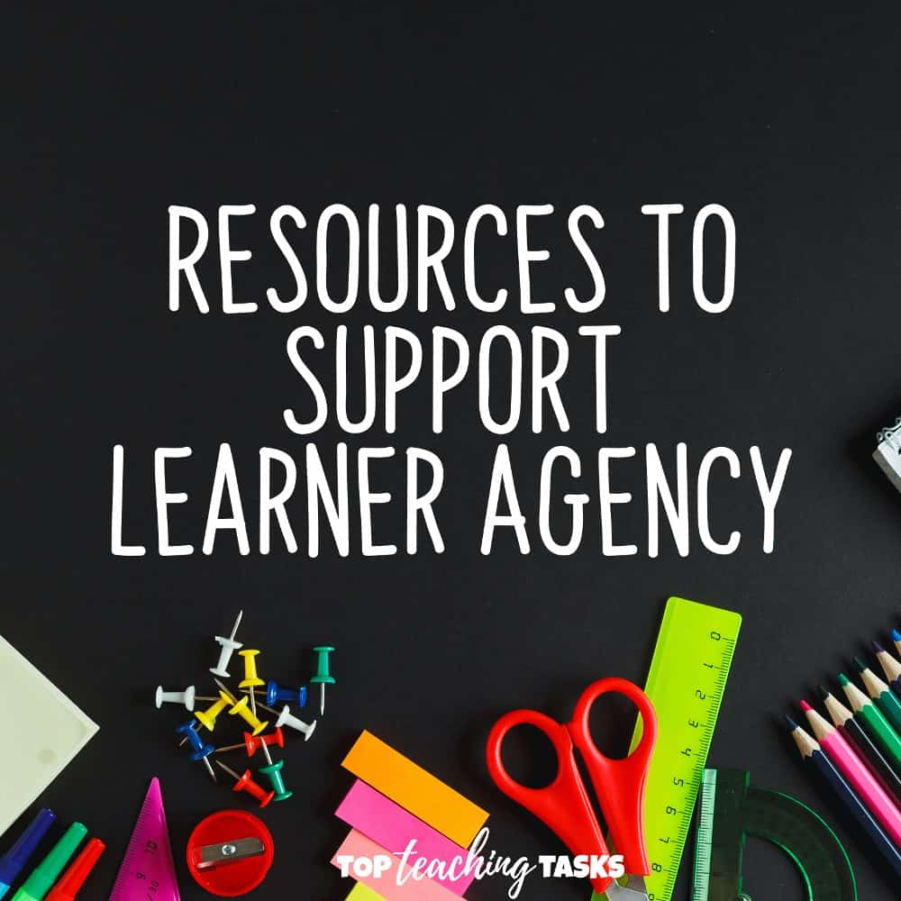 Resources to support student agency