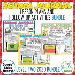 School Journal Level 2 Activities