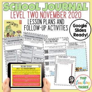 School Journal Level 2 November 2020