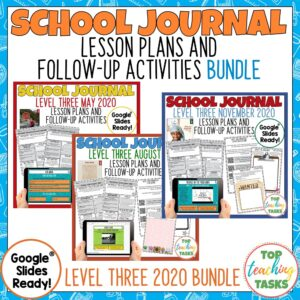 School Journal Level 3 2020 bundle