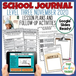 School Journal Level 3 November 2020