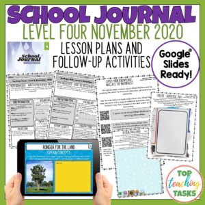 School Journal Level 4 November 2020