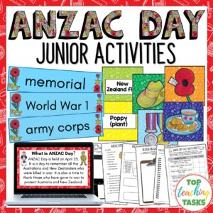 Anzac Day Junior Activities