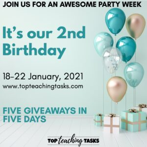 Birthday Week promo