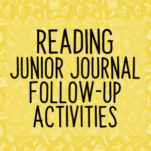 NZ Junior Journal Activities