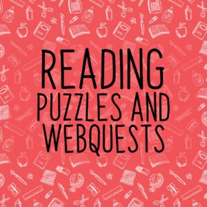 Reading Comprehension Puzzles