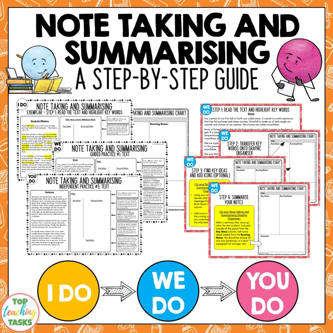 teach students to note take