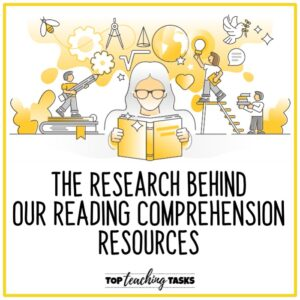 Research behind reading resources