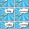 Sight Words Flash Cards 3