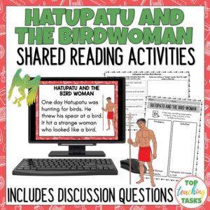 Hatupatu Shared Reading and Discussion Activities