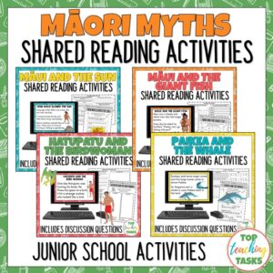 Māori Myths and Legends Shared Reading