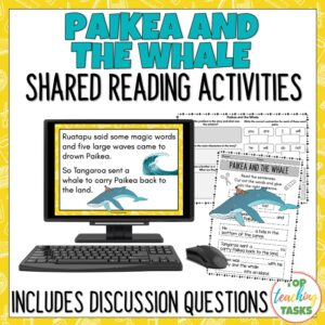 Paikea and the Whale Shared Reading
