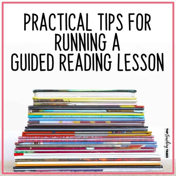 Running a Guided Reading Lesson 1