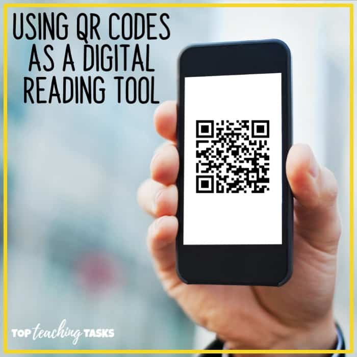 Using QR Codes as a digital reading tool