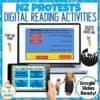 NZ Protests Digital Activities