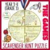 Olympic Games Reading Comprehension puzzle