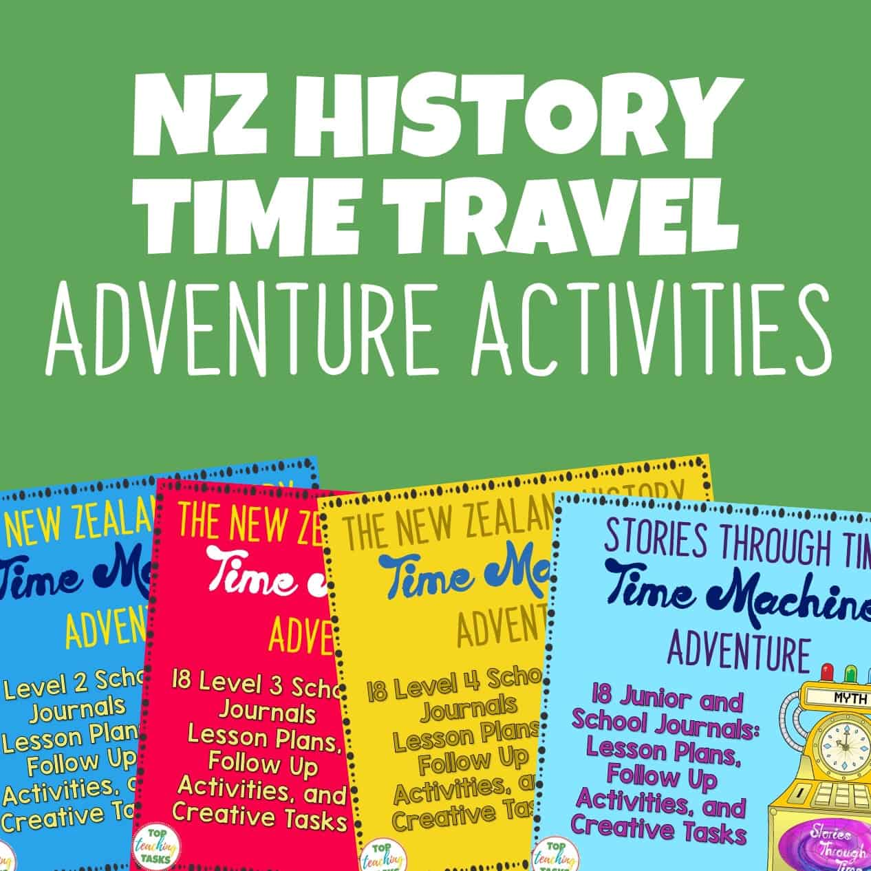 New Zealand History Time Travel Adventures: School Journal Packs