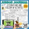 Junior Journal 59 Activities