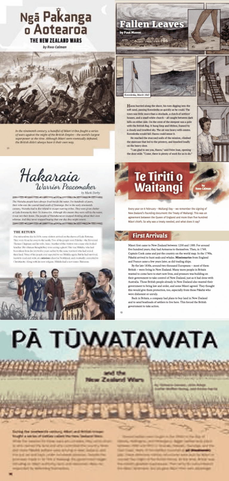 New Zealand Wars School Journal Articles. The New Zealand Wars Resources and Activities. This blog post highlights a range of New Zealand Wars Teaching Resources and Activities to help you to introduce and explore this part of New Zealand's history with your students.
