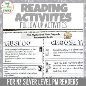 Silver PM Reader Activities