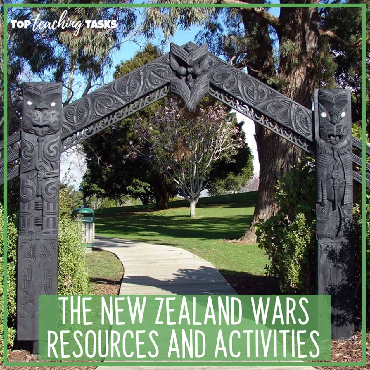 The New Zealand Wars Resources and Activities. This blog post highlights a range of New Zealand Wars Teaching Resources and Activities to help you to introduce and explore this part of New Zealand's history with your students.