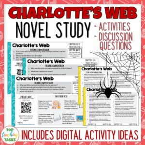 Charlottes Web Novel Study