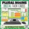 Plural Nouns Digital Activities