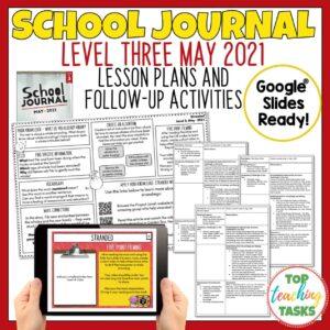 School Journal Level 3 May 2021