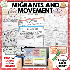 Migrants and Movement Reading and History Unit