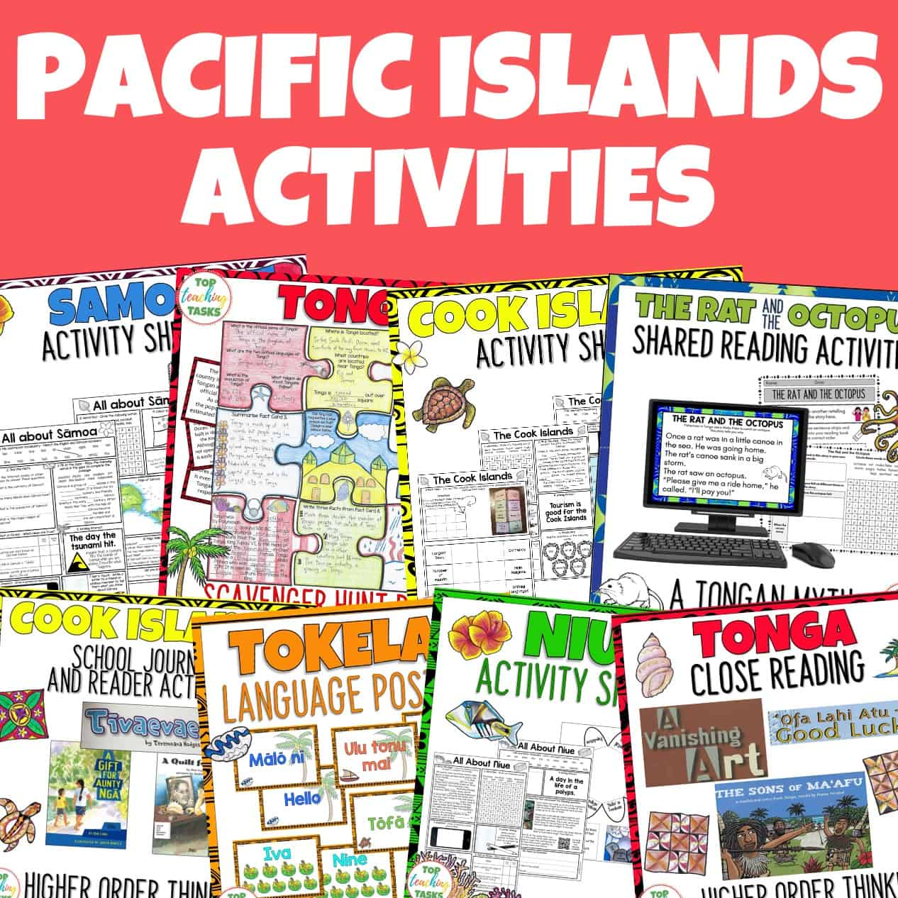 Pacific Islands resources