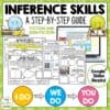 Inference Skills Reading Comprehension Activities